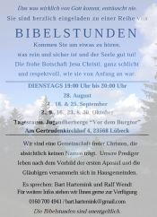 Bibelstunde Lübeck