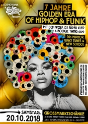 7 Jahre Golden Era of Hip Hop & Funk