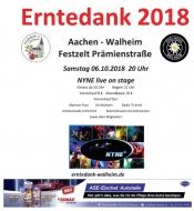 Erntedank Aachen Walheim NYNE live on stage