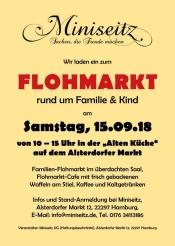 Indoor Flohmarkt rund um Familie und Kind