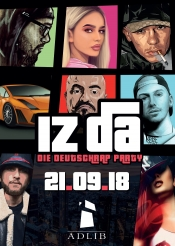 Iz Da || Deutschrap Party || 21.09. Adlib