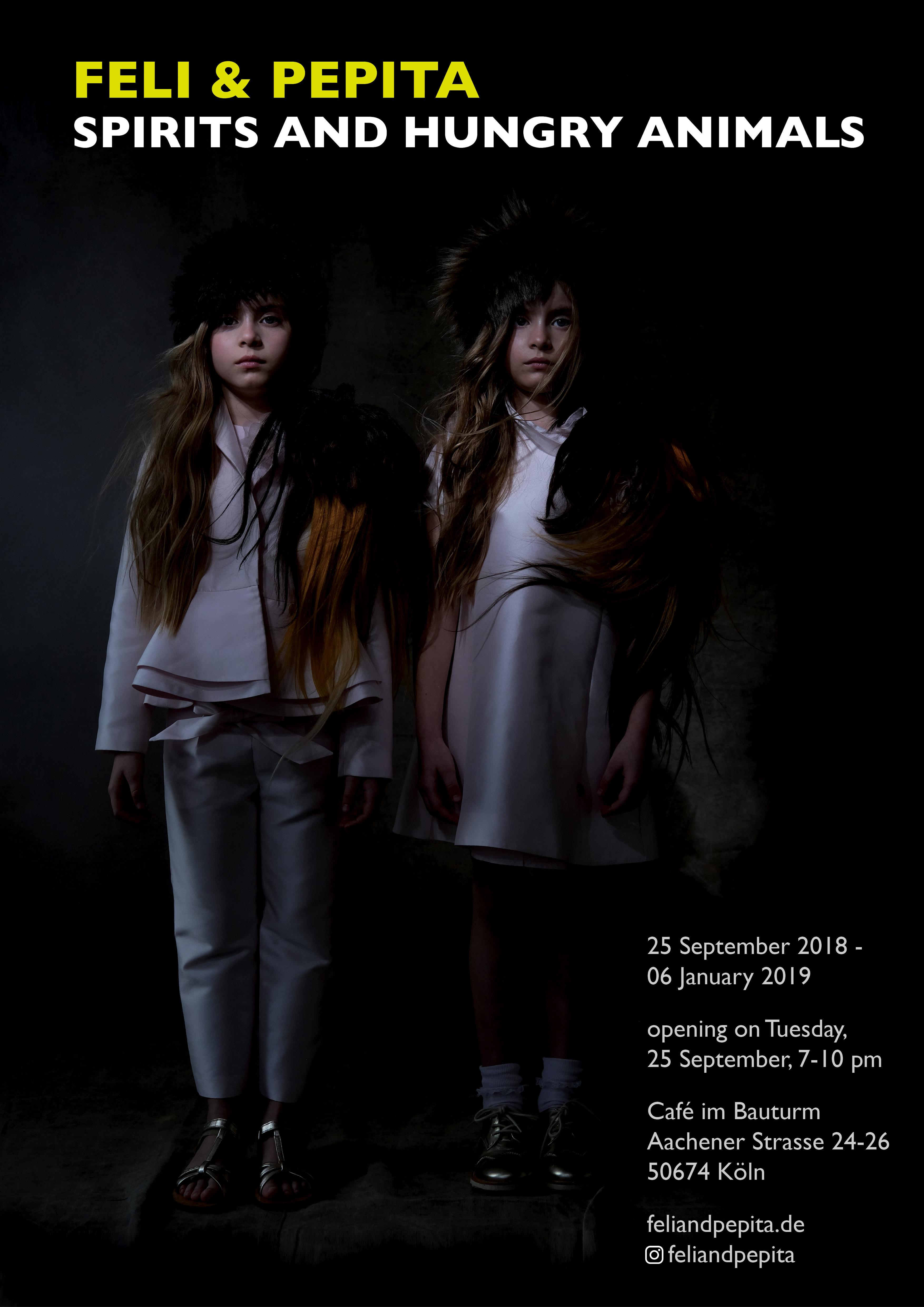 "Feli & Pepita ""Spirits And Hungry Animals"" - Ausstellungseröffnung"