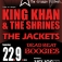 12 Jahre EDP mit King Khan & The Shrines, The Jackets, Dead Beat Boogies