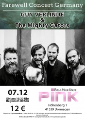 Guy Verlinde & The Mighty Gators Farewell Concert Germany