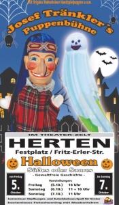 Süßes oder Saures - Halloween mit Josef Tränklers Puppenbühne in Herten