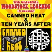 The Original Woodstock Legends - 50th Anniversary: Canned Heat / Ten Years After