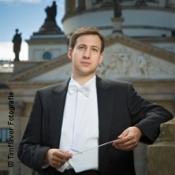 Uraufführung von Frithjof Eydam - 27 für Chor und Orchester, Mozart-Klavierk