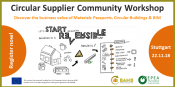 Circular Supplier Community Workshop