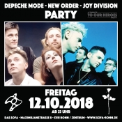 Depeche Mode & New Order Party