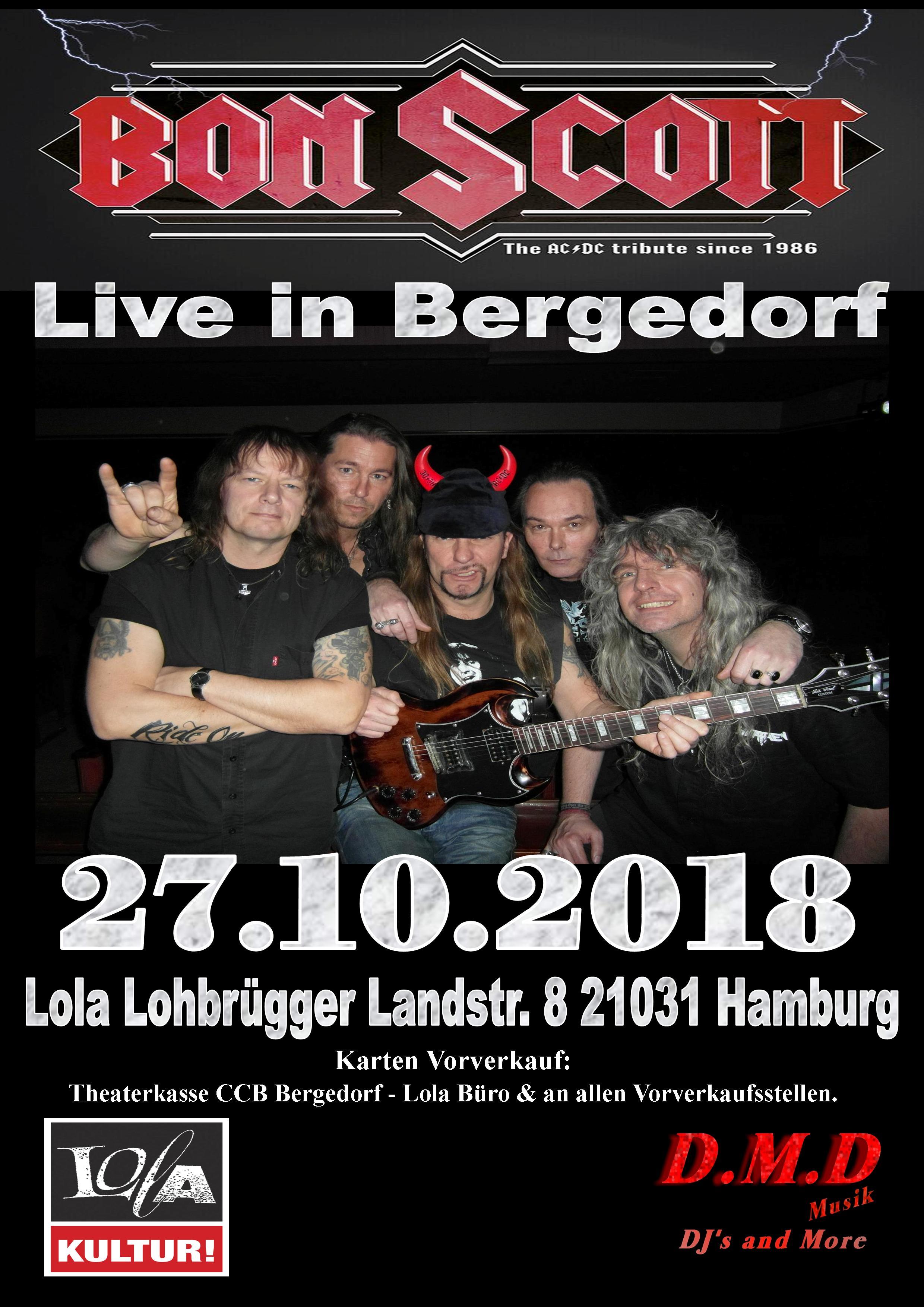 Bon Scott Live in Bergedorf