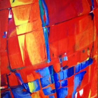 Sequenzen des Sommers – Malerei und Objekte von Sigrid Gruber