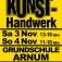 Arnumer Kunsttage 3.11 - 4.11.2018 – Der Kunsthandwerkermarkt