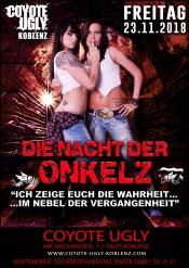 Nacht der Onkelz im Coyote Ugly Koblenz