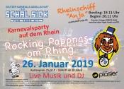 """Rocking Pappnas """"om Rhing"""" der D.K.G. """"Schäl Sick"""" vun 1952 e.V."""