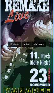 11. Rock-Oldie Night In Meerbusch mit der Band REMAKE