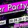Party auf 2 Dancefloors: D1: 90er Party + D2: 80er/2000er Floor