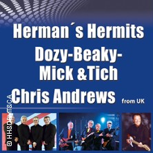 Herman´s Hermits & Dozy, Beaky, Mick&tich & Chris Andrews Live Open Air