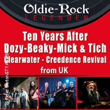 Ten Years After & Ccr Feat. Peter Barton. Oldie Rock Legenden Live From Uk