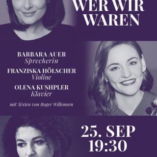 Salon & on Konzert - in Zusammenarbeit mit der Franz-Wirth-Gedächtnis-Stiftung