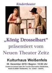 "Kindertheater ""König Drosselbart"""
