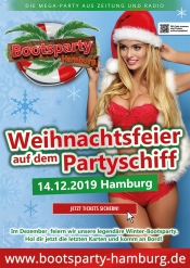 Bootsparty Hamburg - Winter-Edition