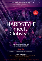 Hardstyle meets Clubstyle auf 2 Floors (18+)