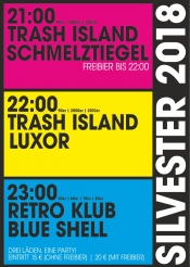Trash Island & Retro Klub Silvester - 3 Clubs 1 Ticket