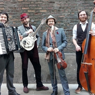 The Underscore Orkestra | Klezmer, Balkan, Gypsy Jazz, Swing und Americana