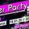 Party auf 2 Dancefloors: D1: 90er Party + D2: 80er+ 2000er Floor