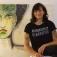 'Biester - Angry Girl Paintings' Malerei auf Leinwand und Stein von Sonja Reiche