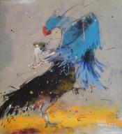 Ausstellung:  Azad Hemee  Syrien)   Malerei