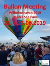 Wilhelmshaven Ballon Meeting 2019 mit Kunst- u. Bauernmarkt