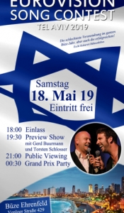 Eurovision Song Contest 2019 - Ehrenfeld Public Viewing