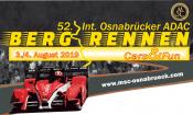 52. Int. Osnabrücker ADAC Bergrennen 3. – 4.August 2019