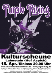 Purple Rising - Tribute Show to Deep Purple