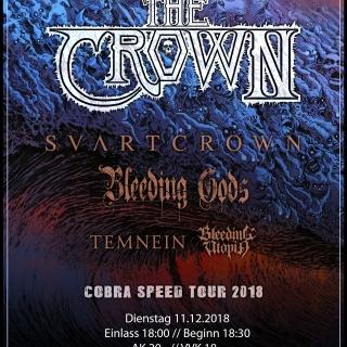 Revolt! - The Crown, Svart Crown, Bleeding Gods u.w.