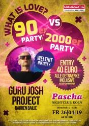 What Is Love? 90er Vs 2000er Party Mit Guru Josh Project - Darren Bailie