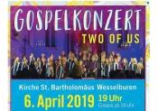 Gospelkonzert, St. Bartholomäus-Kirche, Wesselburen