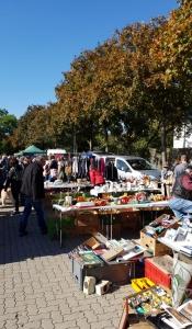 Itzehoer Wochenmarktplatz-Flohmarkt