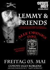 Lemmy & friends - all drinks inkl. in Koblenz