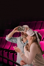 Virtual Reality Kino im Cinedom