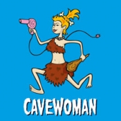Cavewoman in Uhingen