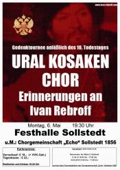 """Ural Kosaken Chor & Chorgemeinschaft """"Echo"""" Sollstedt"""