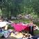 Flohmarkt im Park von Schloss Gereuth