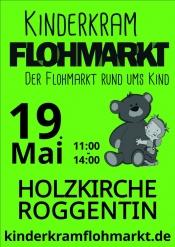 kinderkramflohmarkt am 19.Mai bei der Holzkirche Roggentin