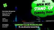 25. Open Mic - Comedy Show Punchline Düsseldorf