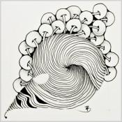 Zentangle - Entspanntes Zeichnen