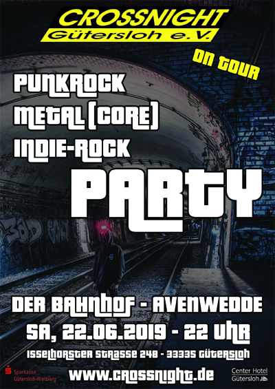 Crossnight - Punkrock, Metal(Core), Indie-Rock Party