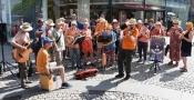 1. Bremer Ukulelenorchester beim Tarmstag