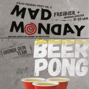 Mad Monday - Beer Pong Monday